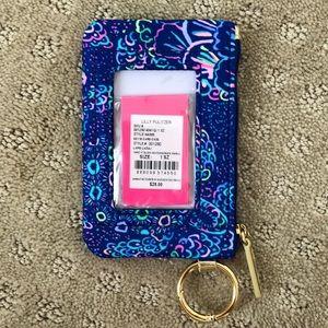 NWT Lilly Pulitzer key ID card case